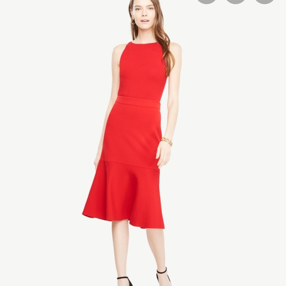 Ann Taylor Dresses & Skirts - Ann Taylor flare flounce skirt